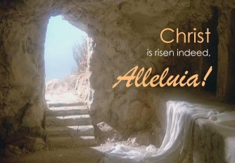 Christ is risen graphic